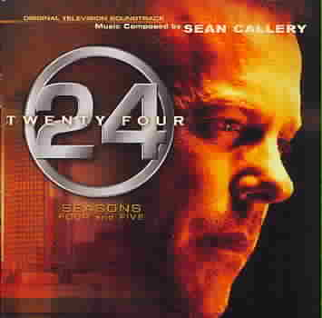 24:SEASONS 4 & 5 ORIGINAL TELEVISION BY CALLERY,SEAN (CD)